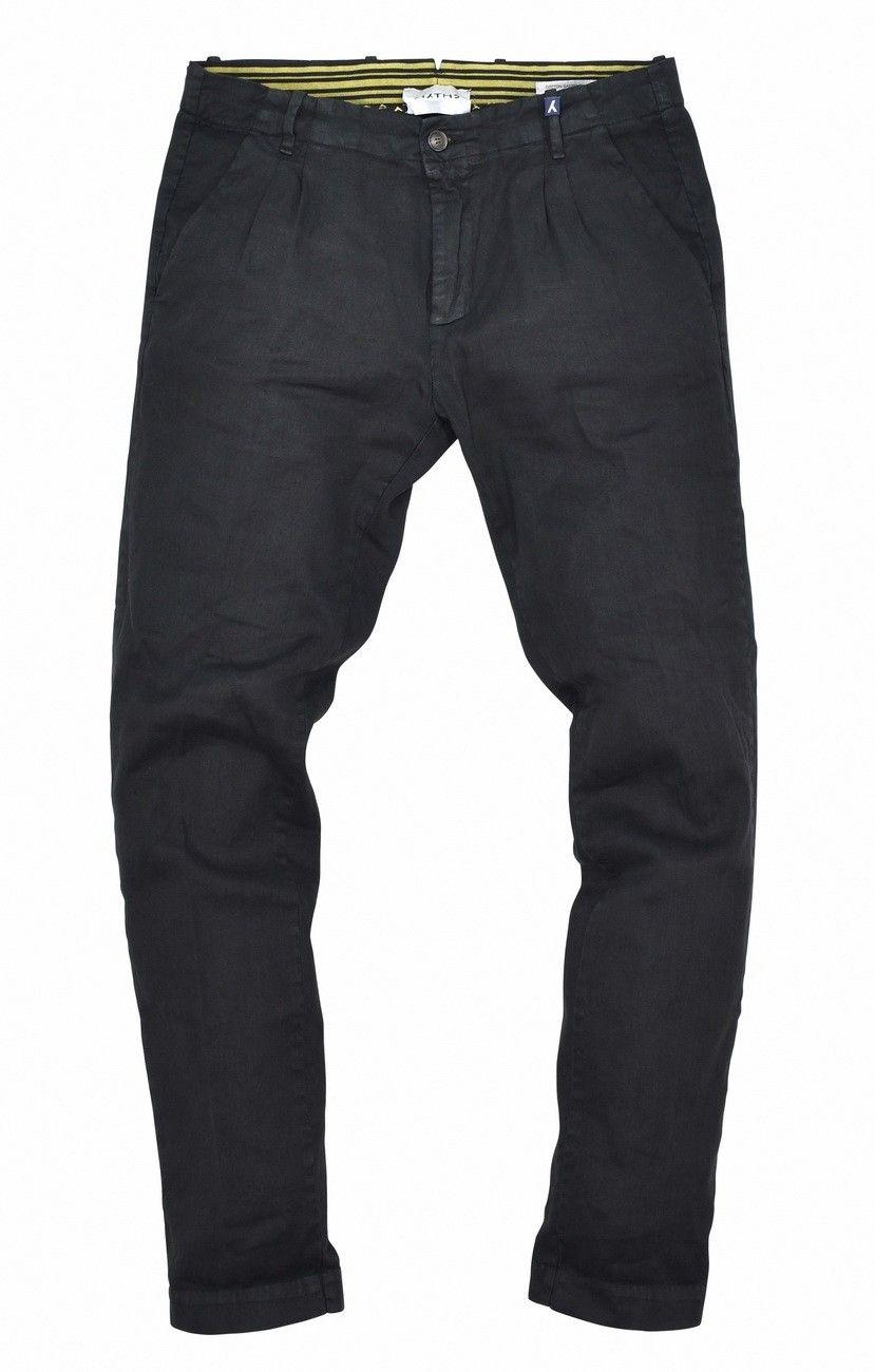 MYTHS - Herren Stoffhose - Pantalone - Black