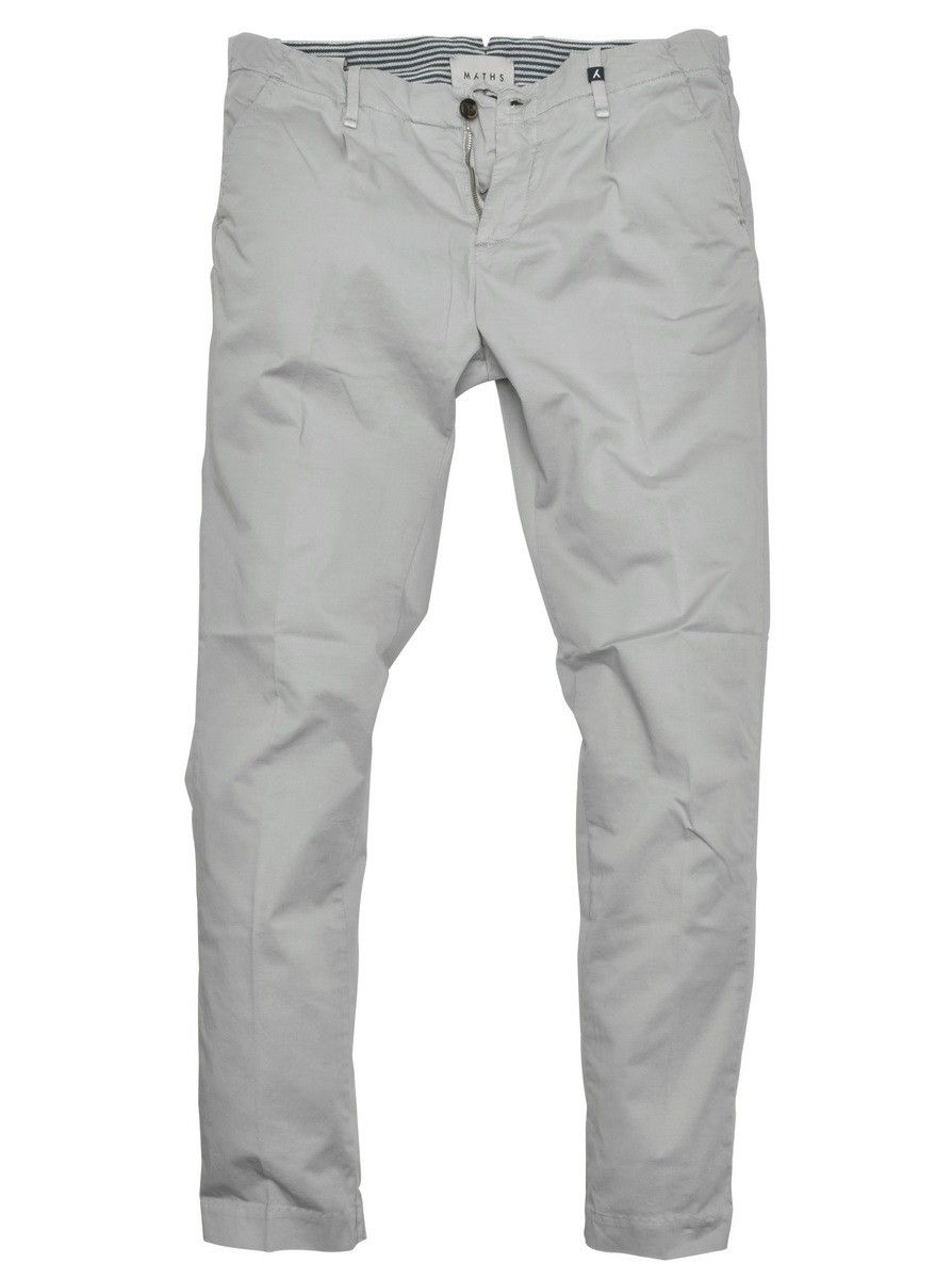 MYTHS - Herren Stoffhose - Long Trousers - Steel Grey