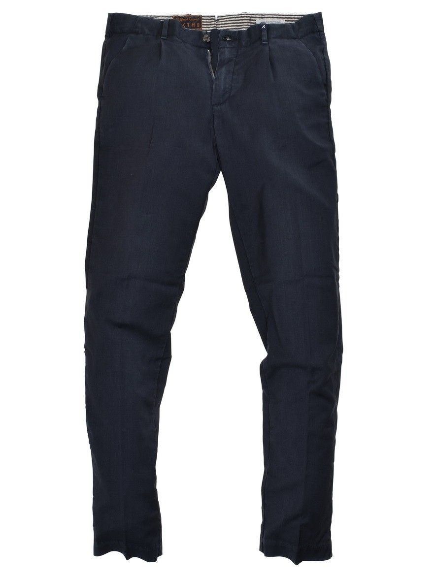 MYTHS - Herren Stoffhose -  Long Trousers - Navy