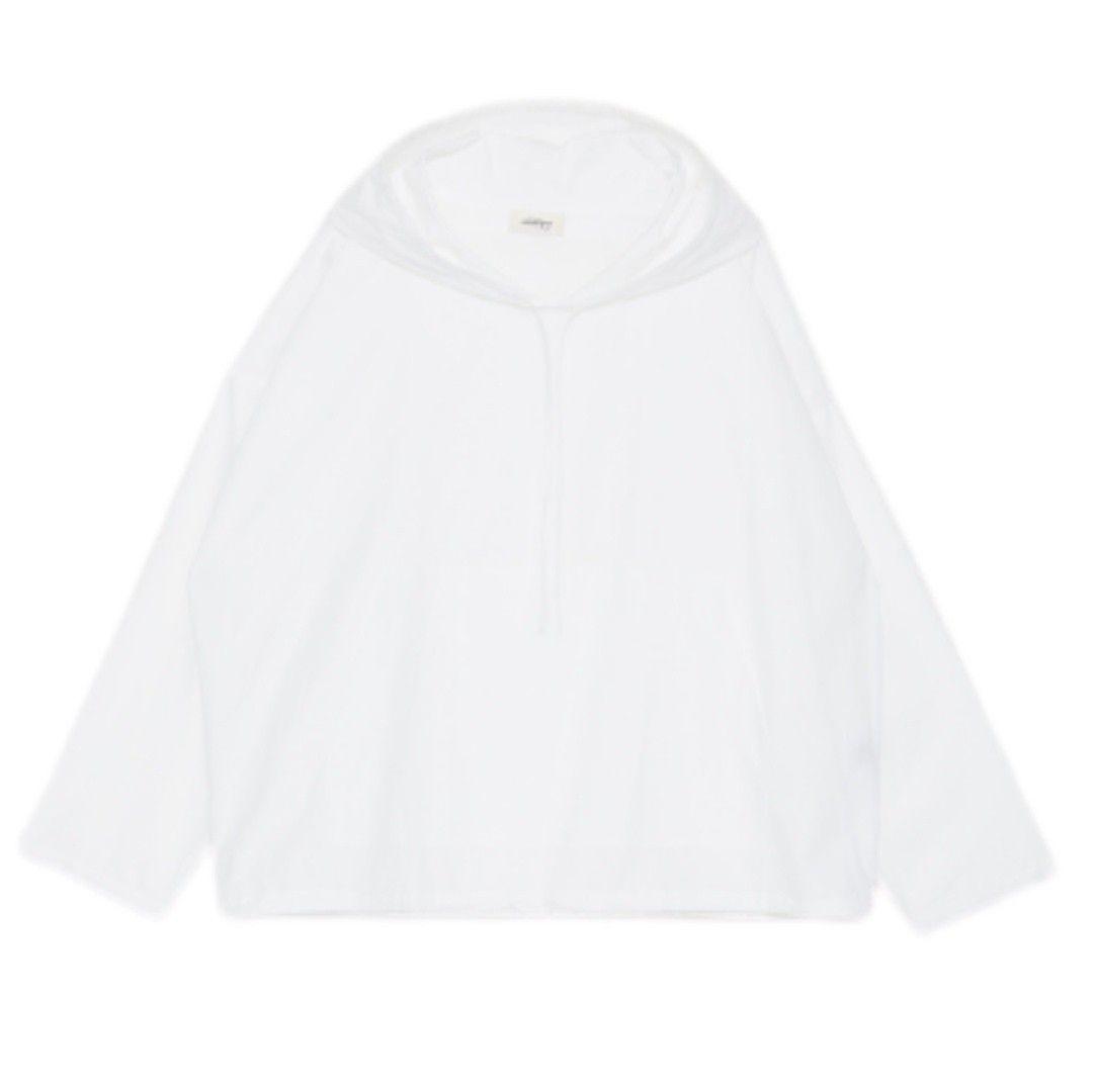 OTTOD`AME - Damen Hoodie - Camicia - Bianco