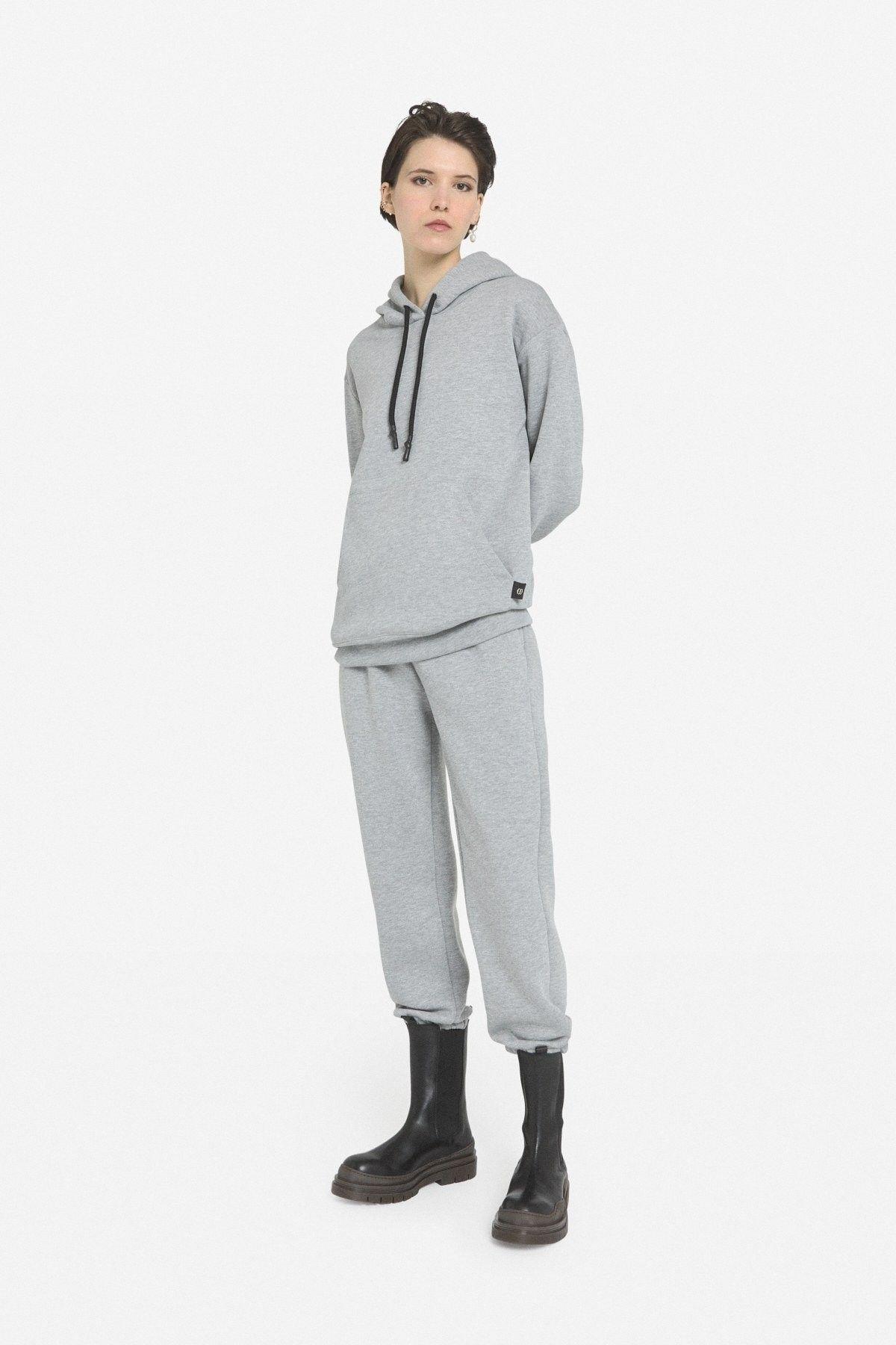 OTTOD´AME - Damen Hose - Pantalone Pant - Grigio