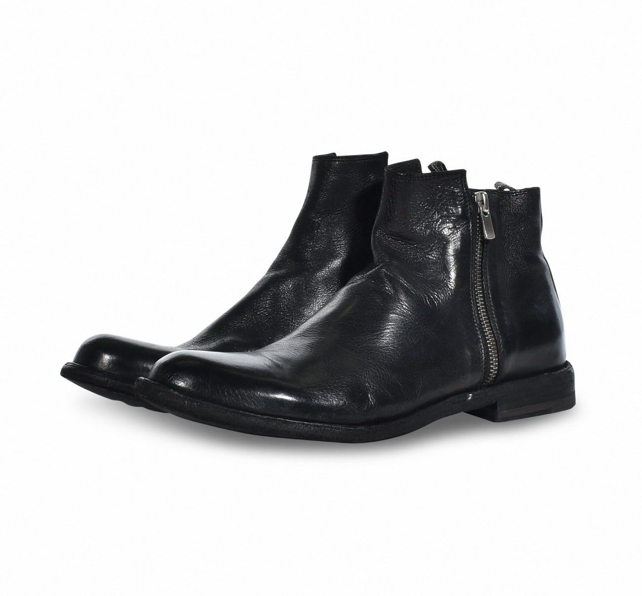 OFFICINE CREATIVE - Herren Stiefelette - Cervo Scaletto  - Nero