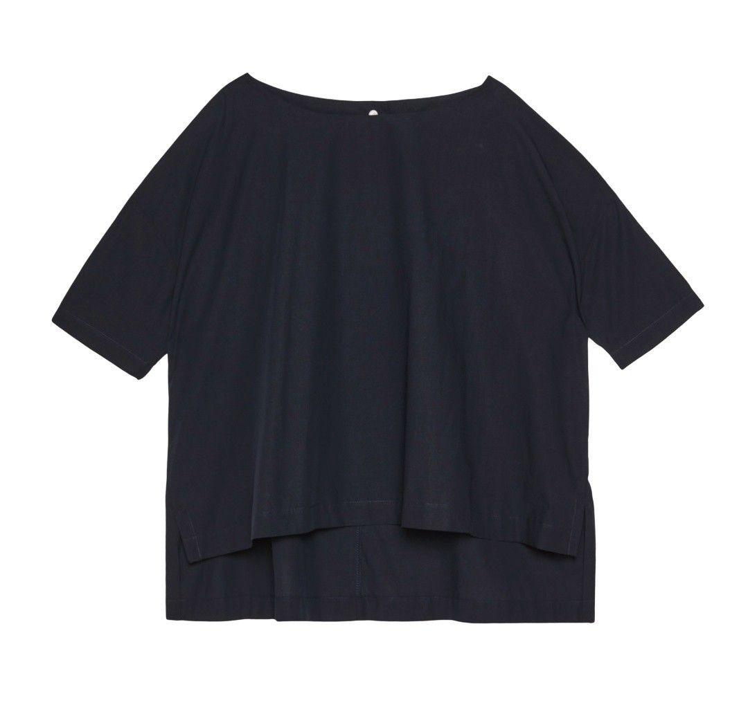 OTTOD`AME - Damen Shirt - Camicia - Nero