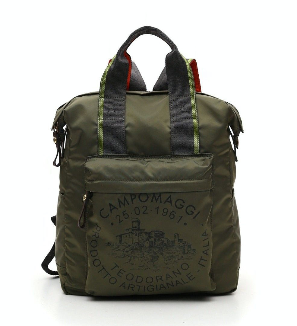 CAMPOMAGGI - Rucksack - Backpack Medium - Military / Brown