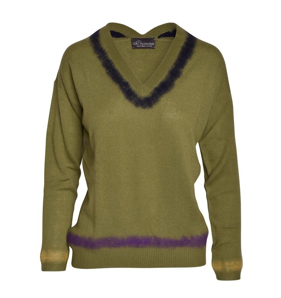 PRINCESS GOES HOLLYWOOD - Damen Pullover - Needle Punch - Sage Green