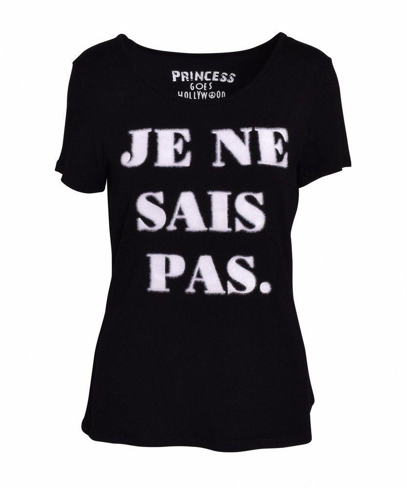 PRINCESS GOES HOLLYWOOD - Damen T-Shirt - je ne sais pas - black
