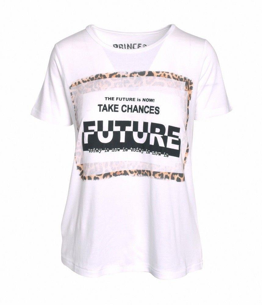 PRINCESS GOES HOLLYWOOD - T-Shirt - FutureNow Tee - White