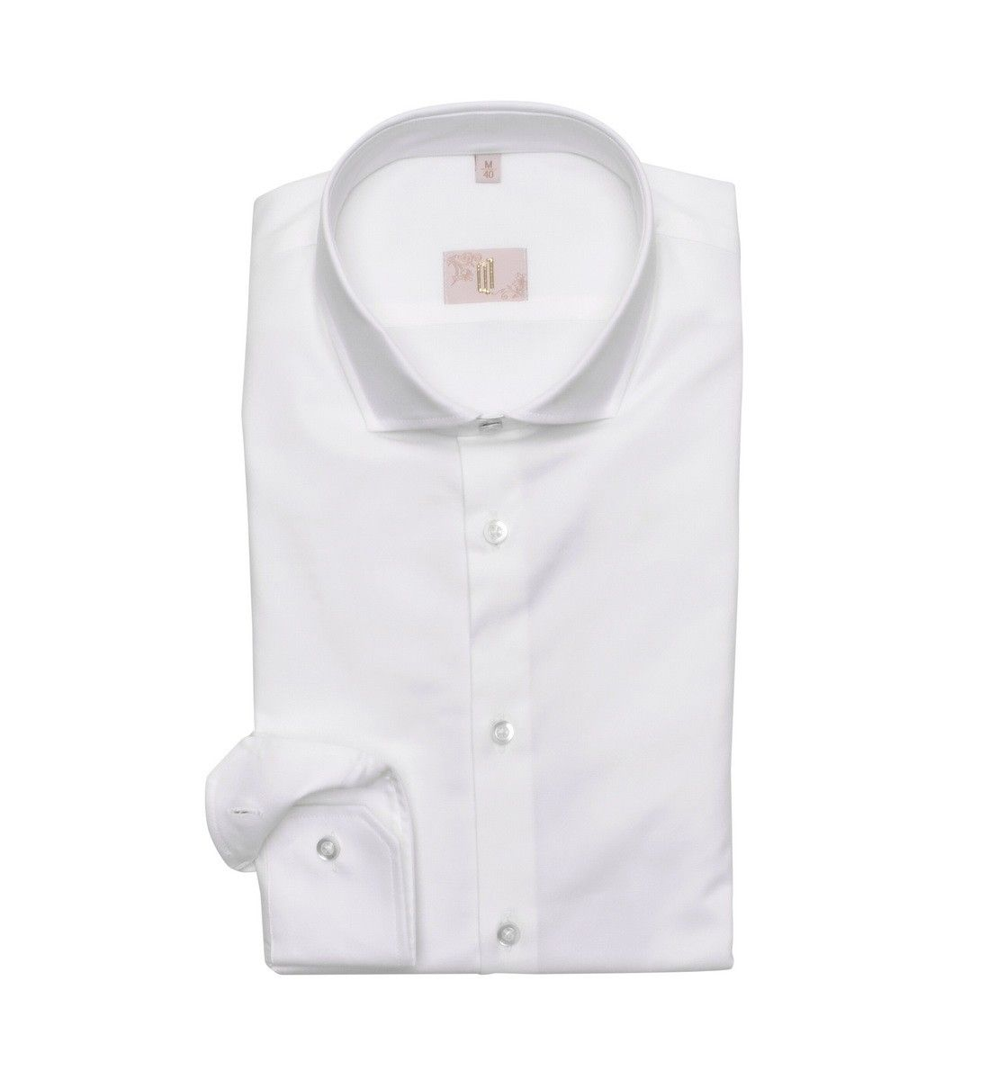Q1 - Herren Hemd - Hemd Slim Fit - Weiß