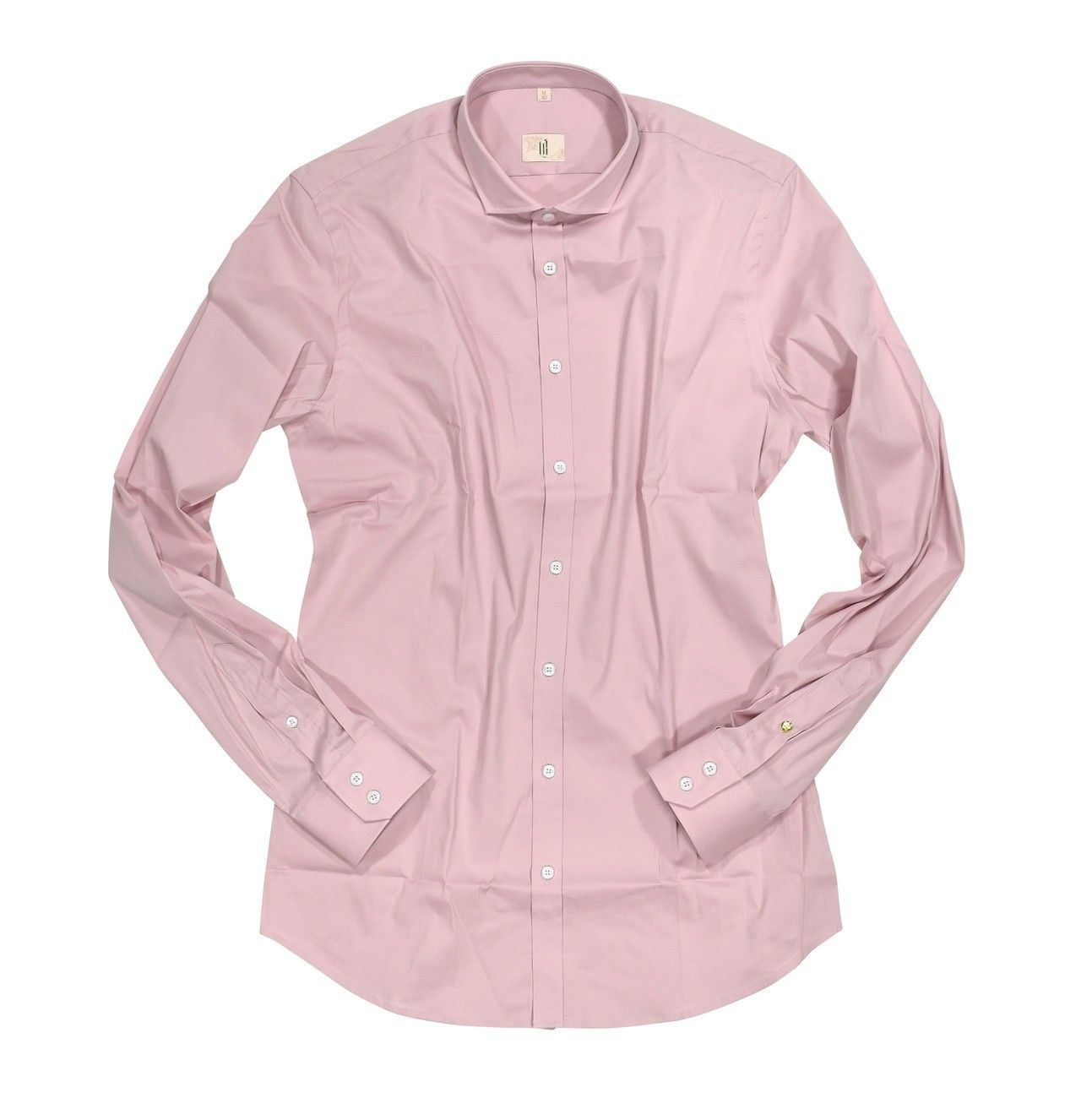 Q1 - Herren Hemd - Hemd Slim Fit - Rose
