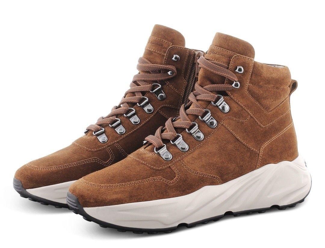 KENNEL & SCHMENGER - Damen Schuhe - Hightop Sneaker - Braun