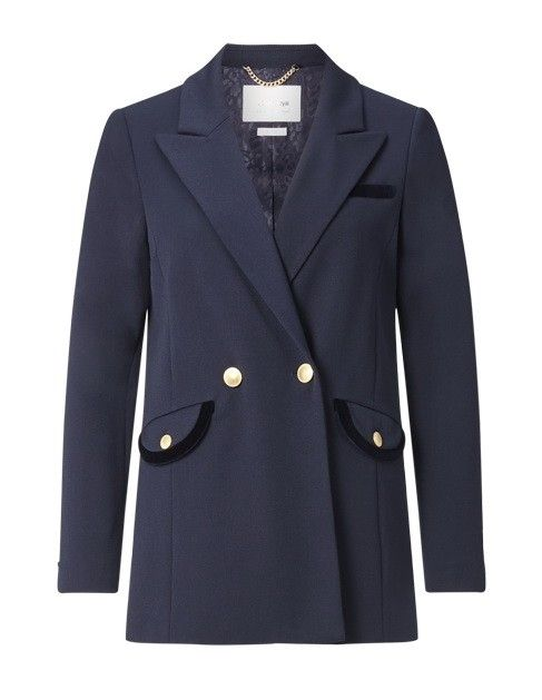 RICH & ROYAL - Damen Blazer - Navy