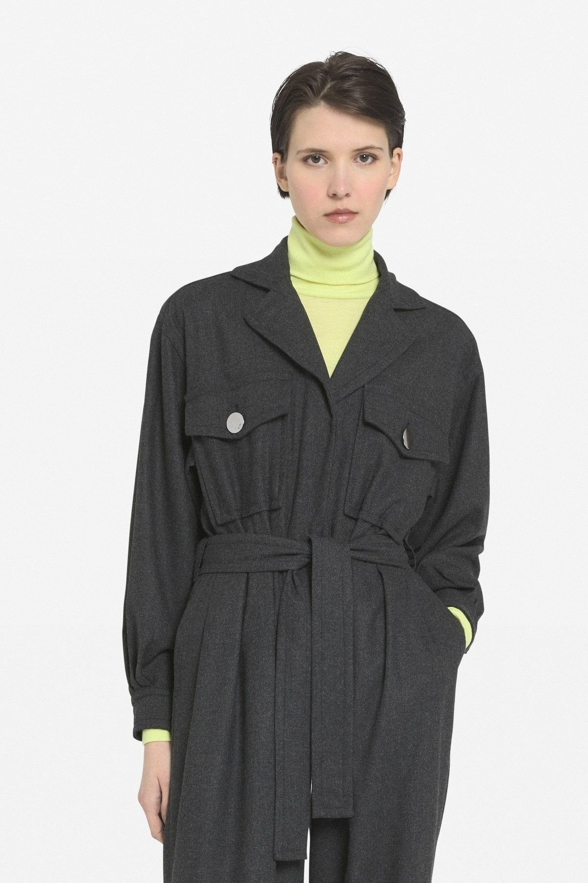 OTTOD´AME - Damen Pullover - Maglia Shirt - Neon