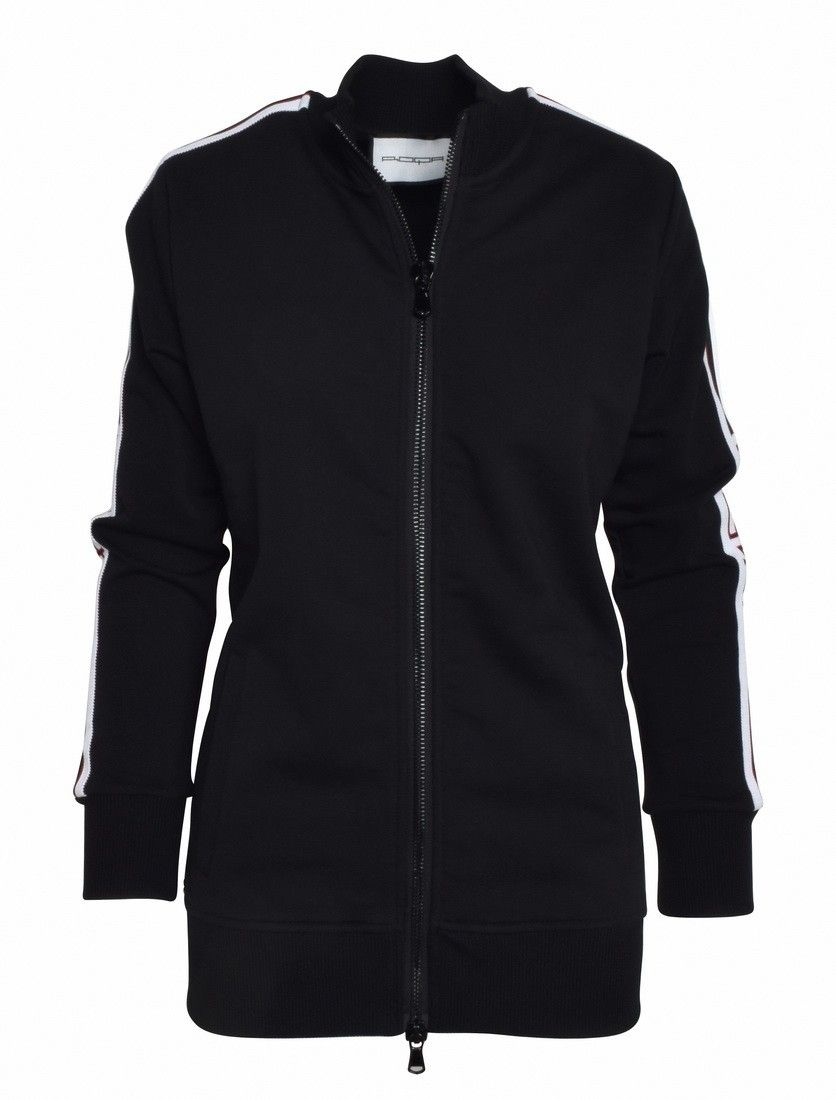ROQA - Damen Sweat Jacket - Black