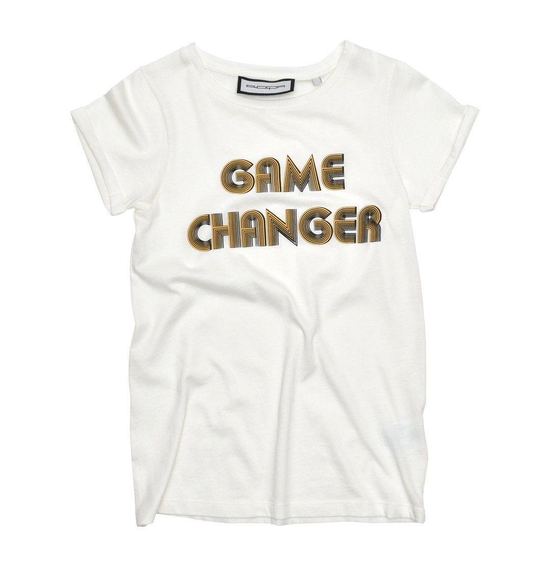 ROQA - Damen T-Shirt - Game Changer - Cream