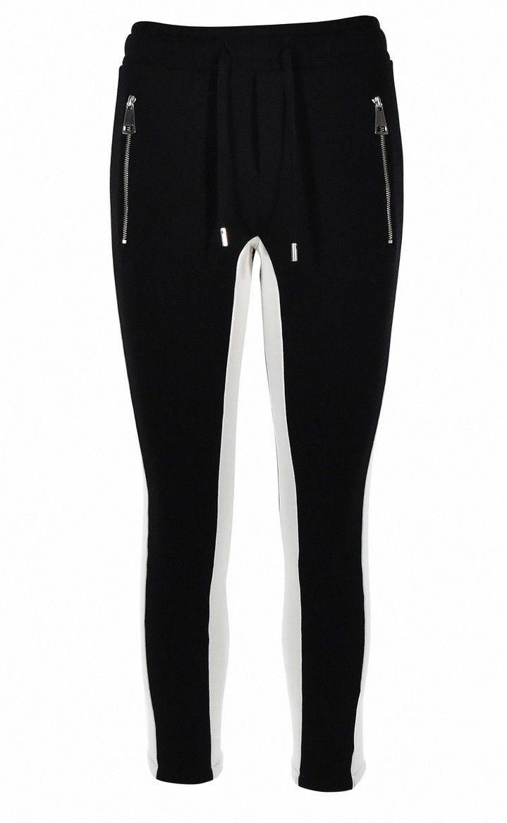 ROQA - Damen Sweathose - Jogger - Black/Cream