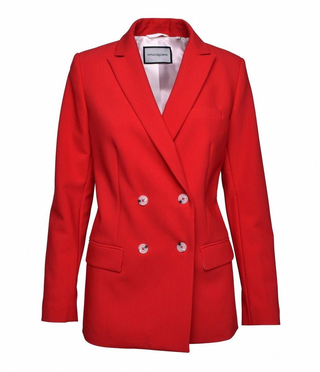 ROQA - Damen Blazer - Red