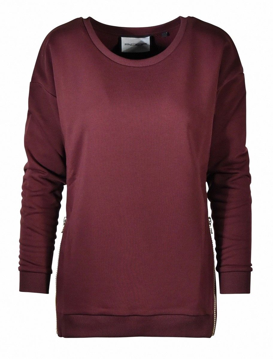 ROQA - Damen Pullover - Sweat - Berry