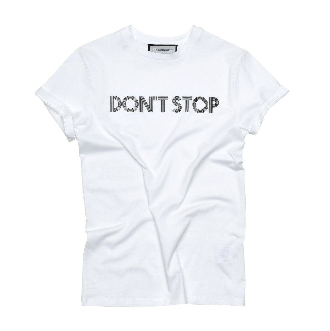 ROQA - Damen T-Shirt - Don't Stop - White
