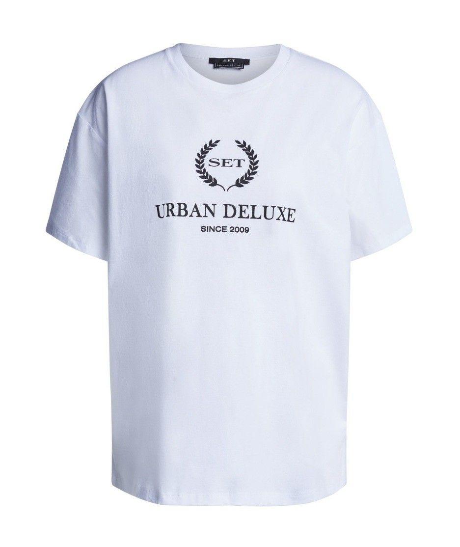 SET - Damen T-Shirt - Urban Deluxe - White