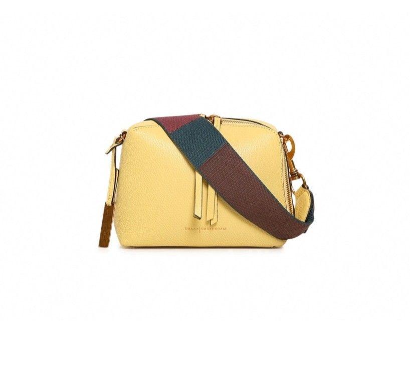 SMAAK AMSTERDAM - Damen Tasche Blake - Yellow