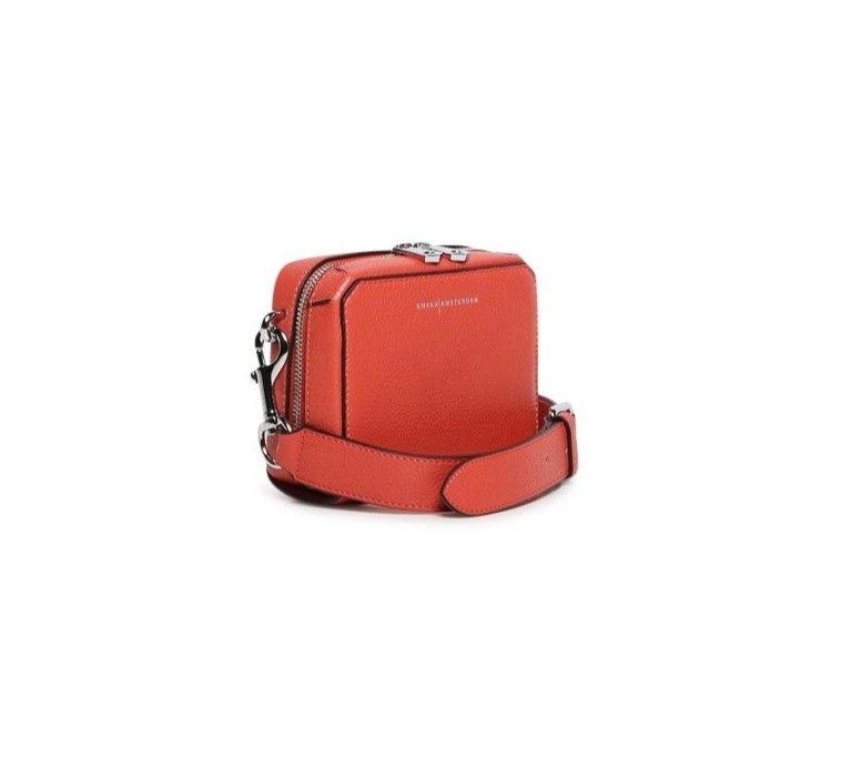 SMAAK AMSTERDAM - Damen Tasche Cooper - Coral