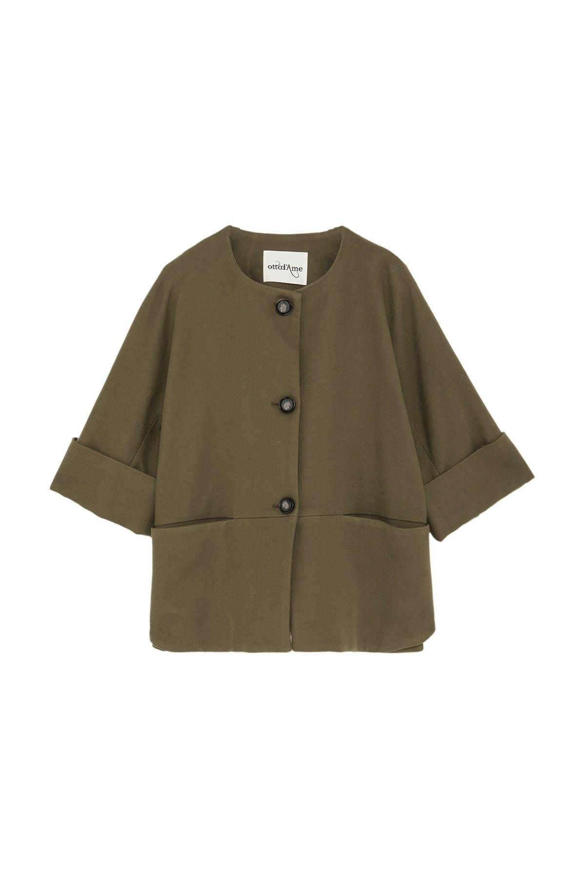 OTTOD'AME - Damen Jacke - Giacca Jacket - Olio