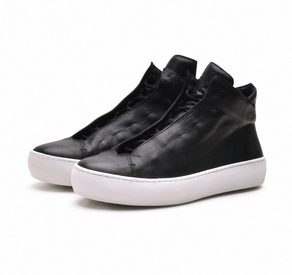 THE LAST CONSPIRACY - Herren Sneaker - Renato Steer - Black/White