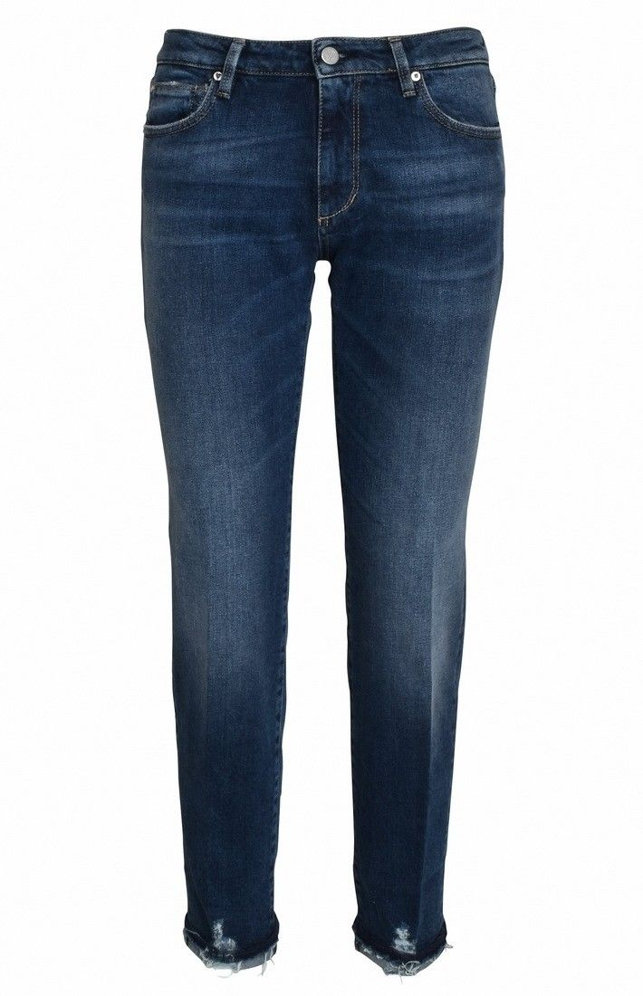 THE NIM - Damen Jeans - Bonnie Woman Jeans Slim Fit - Medium