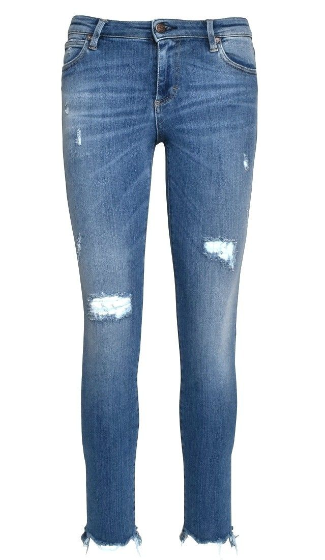 THE NIM - Damen Jeans - Holly Woman Jenas Skinny Ankle Fit - Super Light