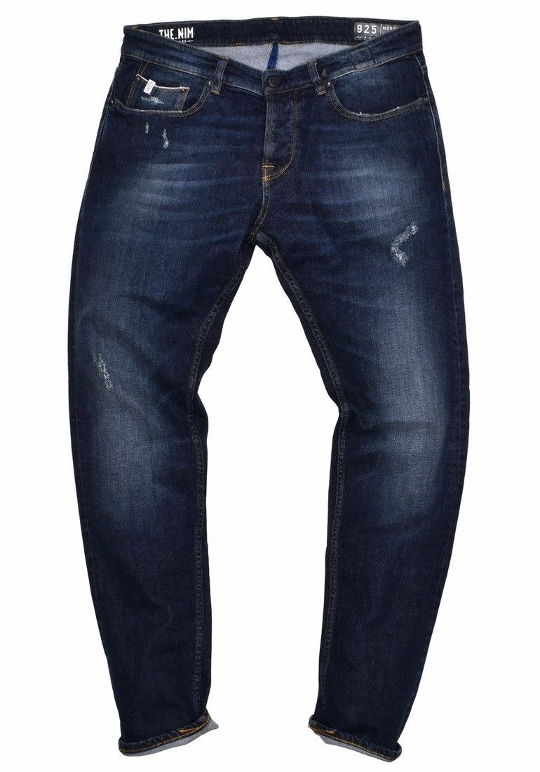 THE NIM - Herren Jeans - Morrison - Dark Blue Selvedge