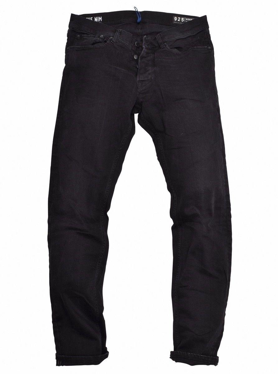 THE NIM - Herren Jeans - Morrison Slim Tapered Fit - Black/Black