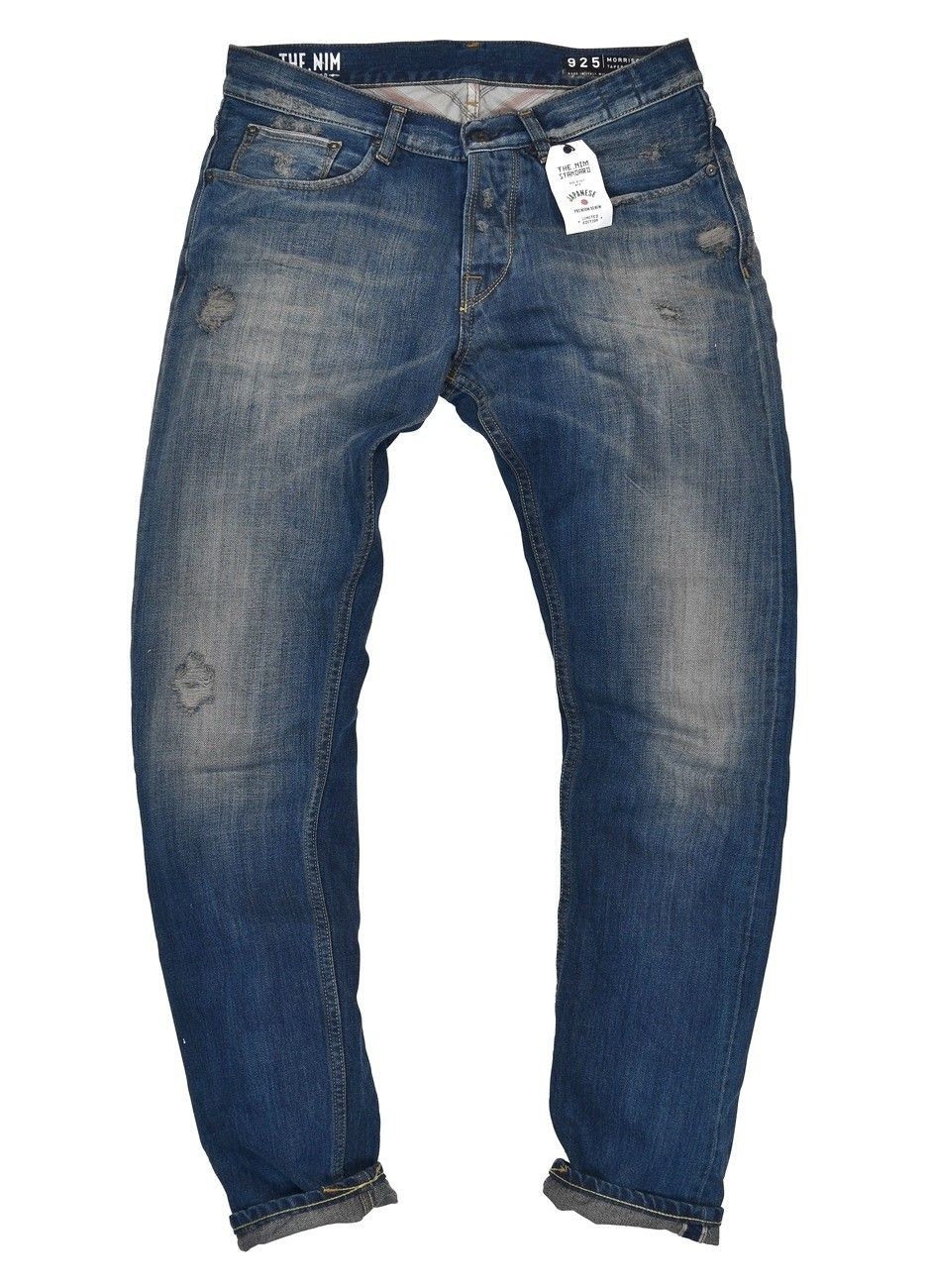 THE NIM - Herren Jeans - Morrison Japan Slim Tapered Jeans - Tinted