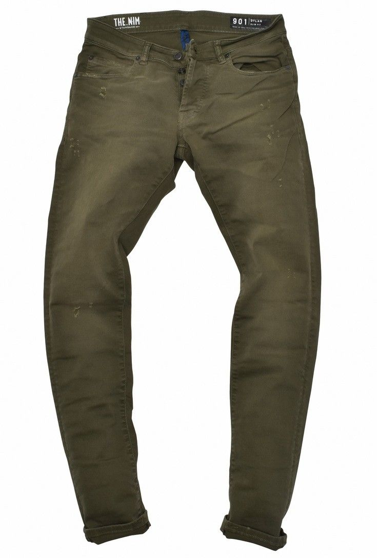 THE NIM - Herren Jeans - Dylan Man Jeans - Army
