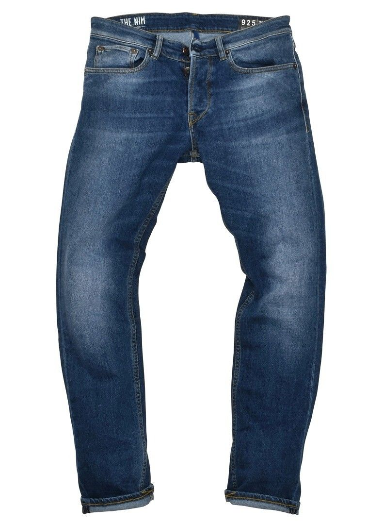 THE NIM - Herren Jeans - Morrison Tapered Slim - Blue Medium
