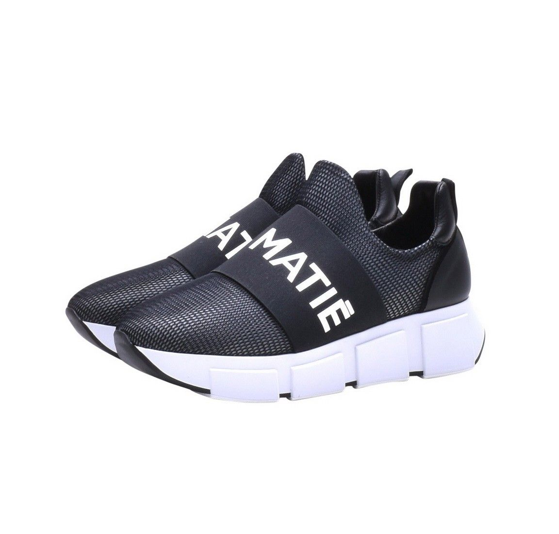 VIC MATIÉ - Damen Sneaker - Scarpa Jam/Lam/Velvet - Black