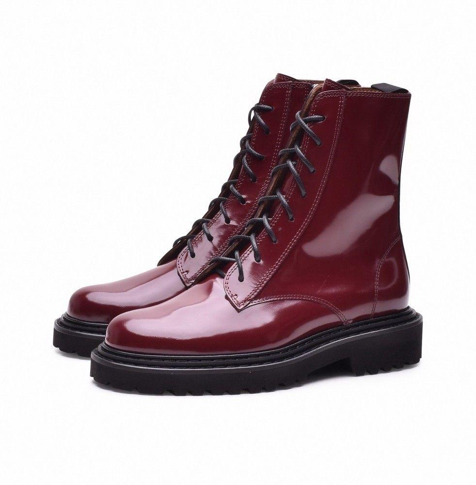 VIC MATIÉ - Damen Schuhe - Tronc. Brushed - dark red