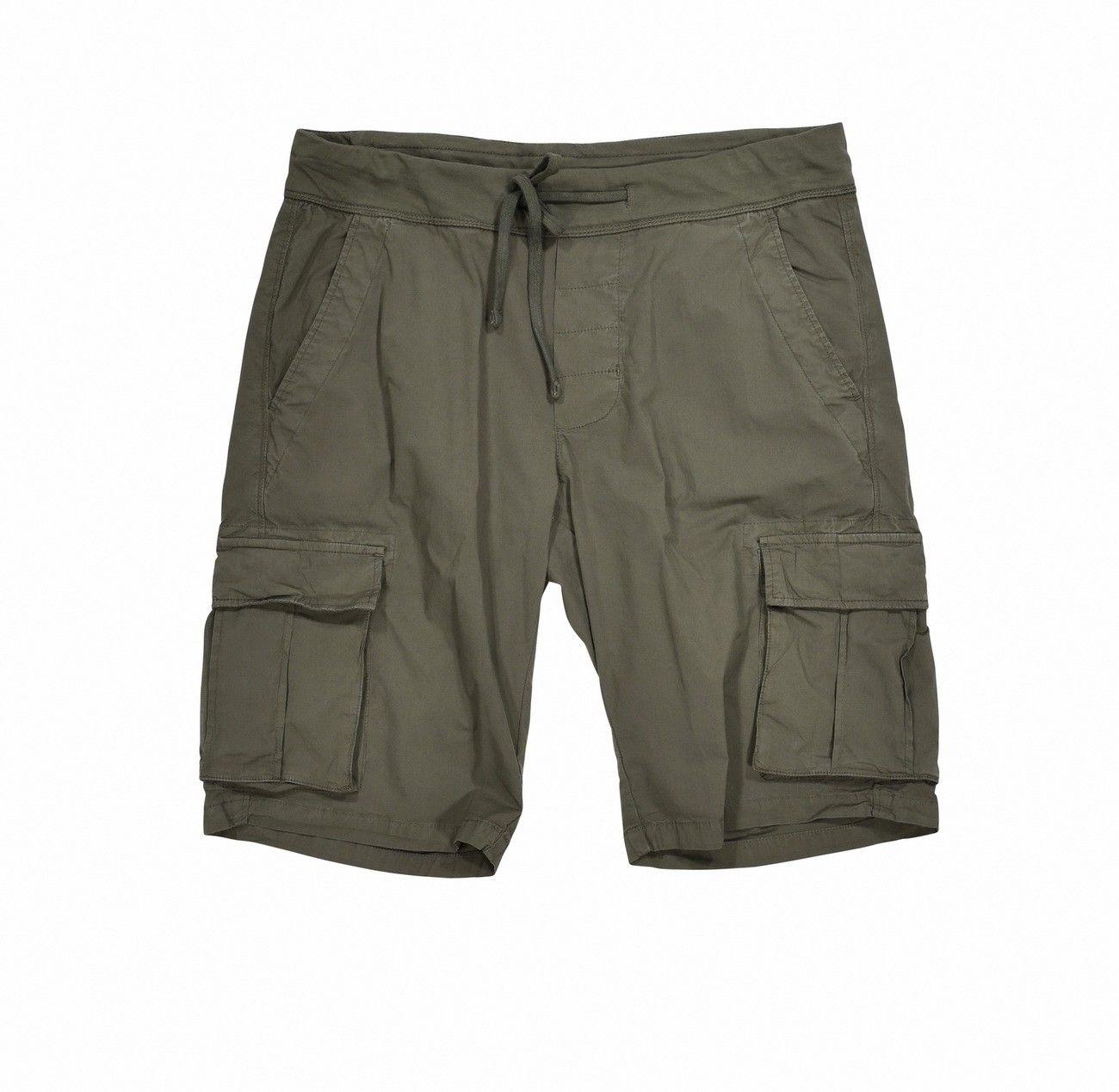 WOOLRICH - Herren Shorts - Popeline Cargo - Grape Leaf