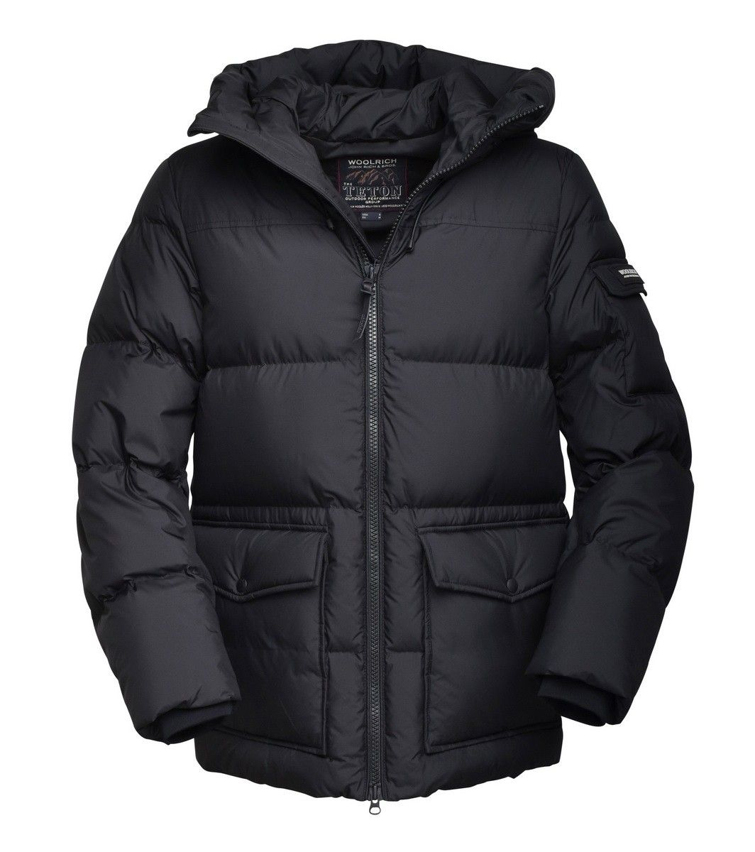 WOOLRICH - Herren Jacke - Sierra Supreme Short Jacket - Black