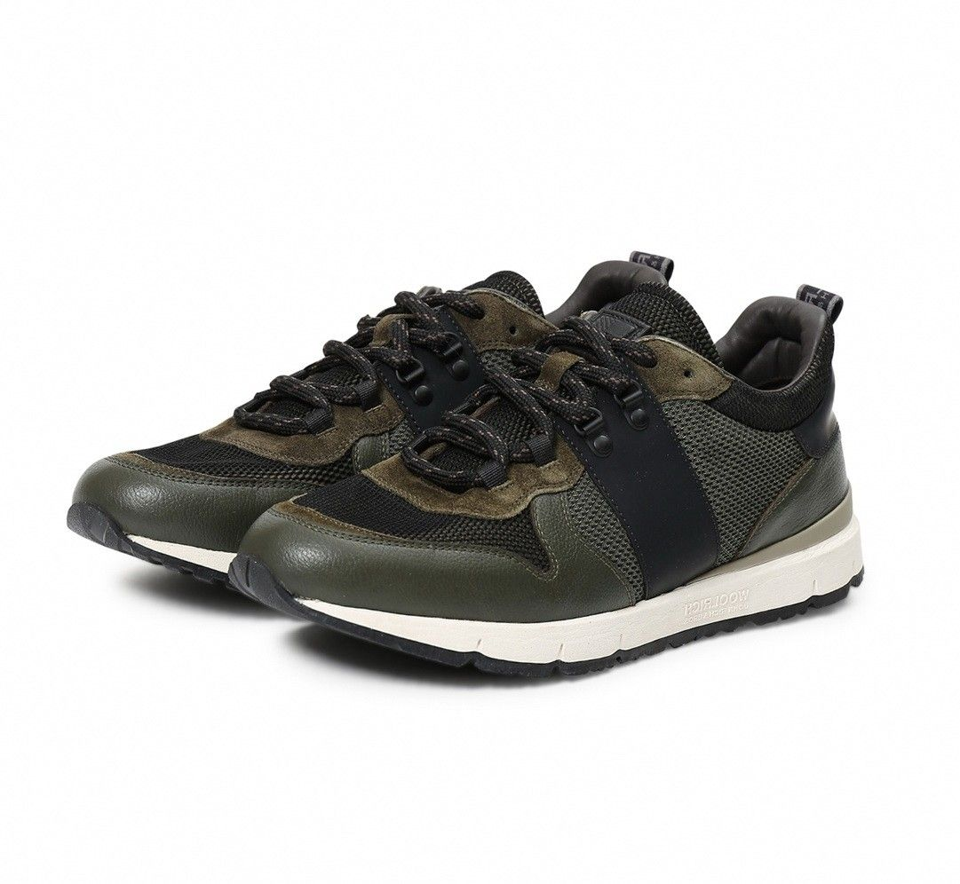 WOOLRICH - Herren Sneaker - Jogger Trail Rodi - Military/Black