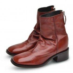 MOMA - Damen Schuhe - Tronchetto Donna Frida - Mattone