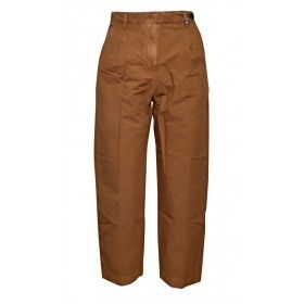 MYTHS - Damen Hose - Cropped Pants - Clay
