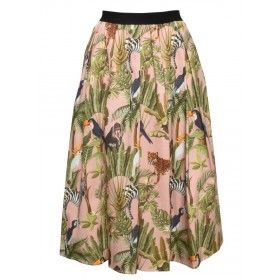 MYTHS - Damen Rock - Skirt - Jungle