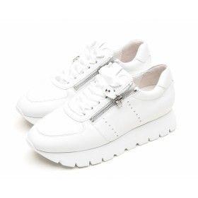 KENNEL & SCHMENGER - Damen Sneaker - Rise X - Bianco