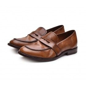 MOMA - Damen Schuhe - Mocassino Murano - Vintage Braun