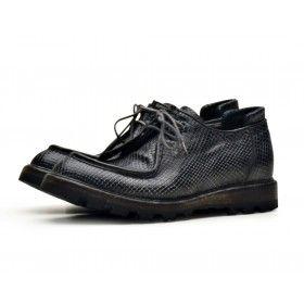 SHOTO - Damen Schuhe - Stampa Aspide Washed - Nero