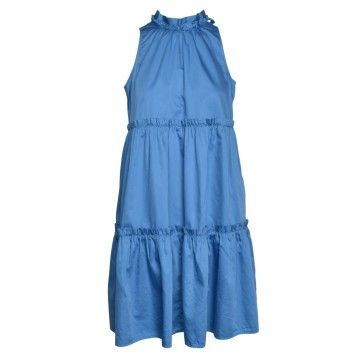 0039 ITALY - Kleid - Aurelie Dress - Blue