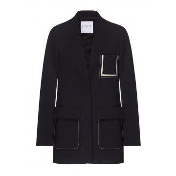 BEATRICE.B - Damen Longblazer - Blazer - Black