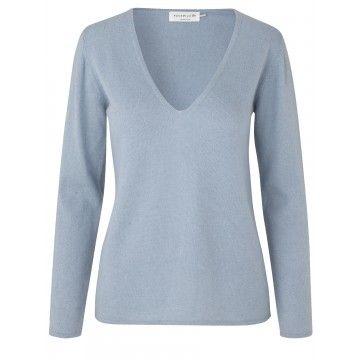 ROSEMUNDE - Damen Pullover - Laica - Blue Fog