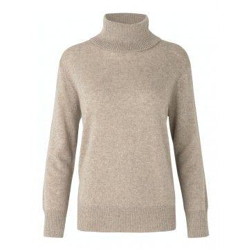 ROSEMUNDE - Damen Pullover - Kashmere - Atmosphere Melange