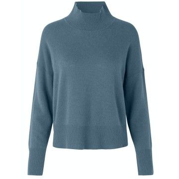 ROSEMUNDE - Damen Pullover - ls - Stormy Weather